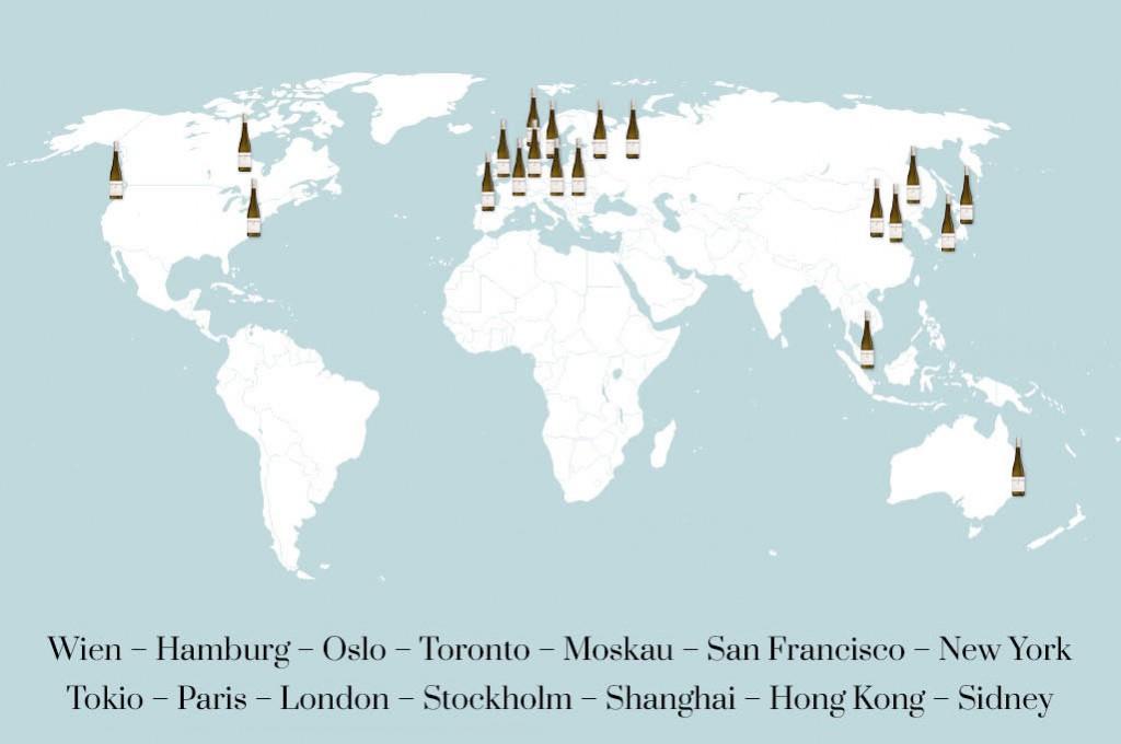 Worldmap Weinrieder
