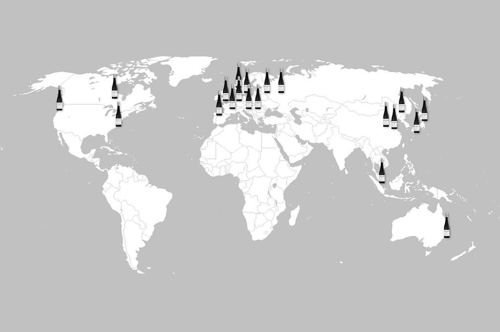 Worldmap Weingut Weinrieder