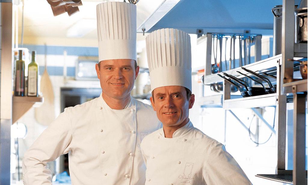 Karl und Rudi Obauer